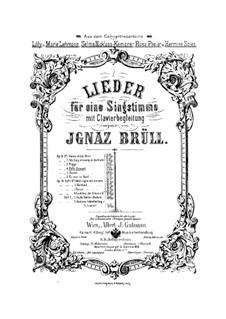 Songs, Op.18: No.4 Polly Steward by Ignaz Brüll