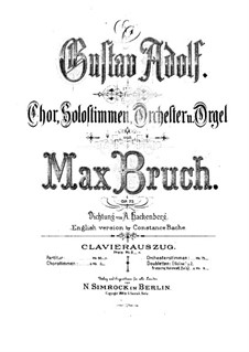 Gustav Adolf, Op.73: Gustav Adolf by Max Bruch