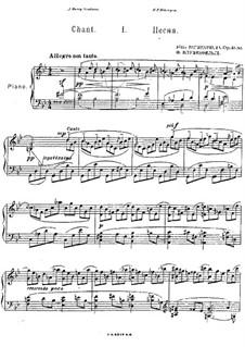 Three Pieces, Op.51: set completo by Felix Blumenfeld