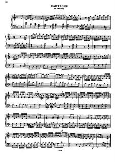 Fantasia in C Major: Fantasia em C maior by Georg Friedrich Händel