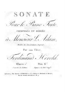 Sonata in C Major, Op.1: Sonata em C Maior by Ferdinand Herold