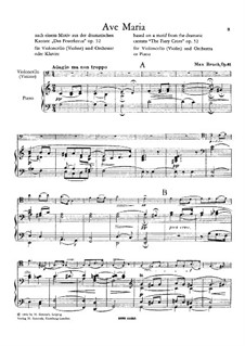 Ave Maria, Op.61: Ave Maria by Max Bruch