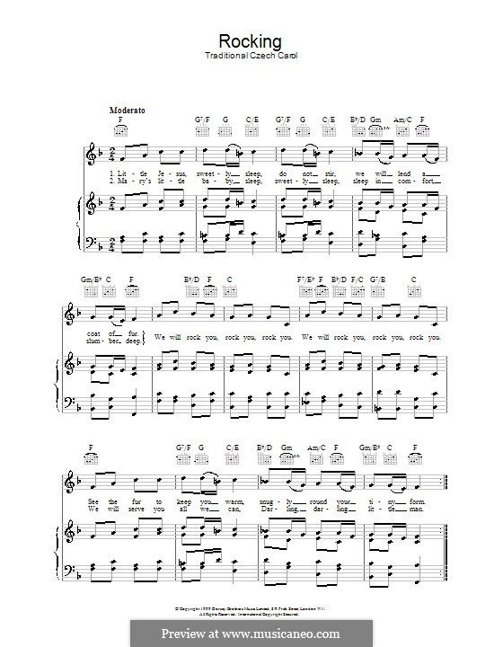 Rocking: Para vocais e piano (ou Guitarra) by folklore