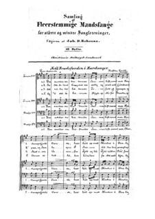 Sampling af Fleerstemmige Mandssange: Sampling af Fleerstemmige Mandssange by Halfdan Kjerulf