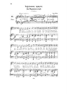 Eight Norwegian Tunes, Op.6: todas as musicas by Halfdan Kjerulf
