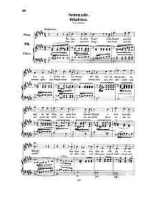 Serenade, HK 185: serenata by Halfdan Kjerulf