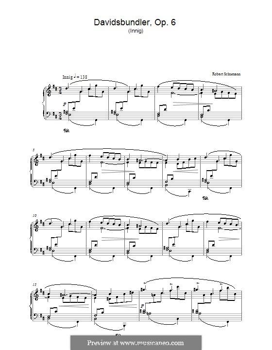 Dances of the League of David, Op.6: No.2 by Robert Schumann
