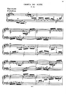 Suite No.5 in E Major, HWV 430: para cravo by Georg Friedrich Händel