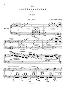 Les contemplations. No.2 Why, Op.54: Les contemplations. No.2 Why by Joseph Ascher