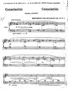 Three Pieces, Op.27: três peças by Ernesto Drangosch