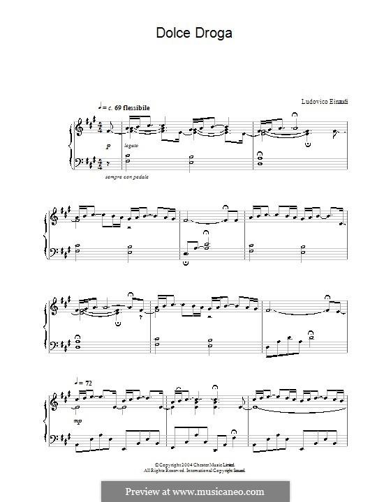 Dolce Droga: Для фортепиано by Ludovico Einaudi