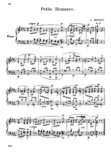 Маленький романс: Маленький романс by Адольф фон Хенсельт