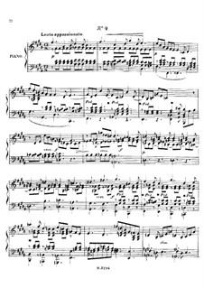 Шесть мелодий для фортепиано, тетрадь II, Op.5: Шесть мелодий для фортепиано, тетрадь II by Фанни Хензель