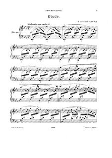 Три пьесы для фортепиано, Op.30: Три пьесы для фортепиано by Александр Ильинский