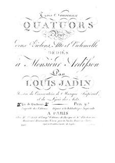Три струнных квартета II: Три струнных квартета II by Луи Эммануэль Жаден