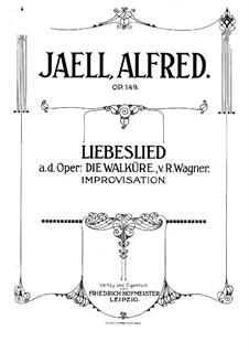 Валькирия, WWV 86b: Любовная песня Зигмунда, для фортепиано by Рихард Вагнер