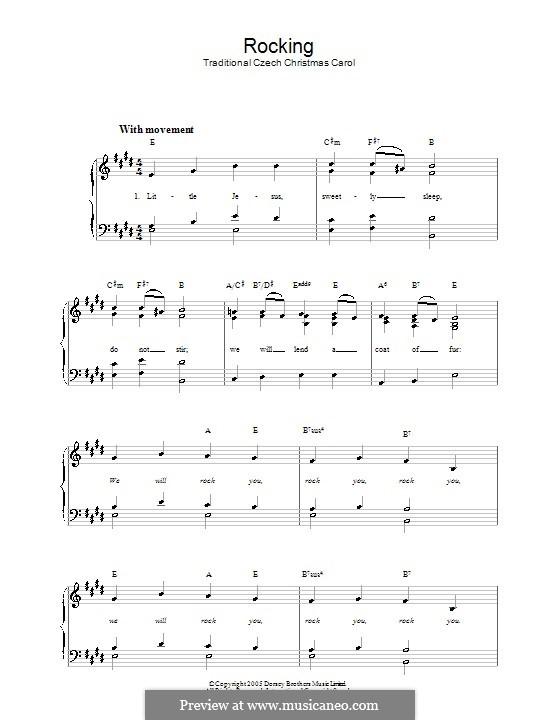 Rocking: Для фортепиано (легкий уровень) by folklore