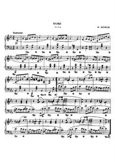 Вальс ми-бемоль мажор, B.133 KK IVb/10: Для фортепиано by Фредерик Шопен