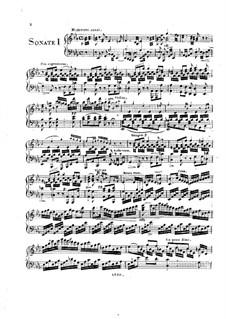 Две сонаты для фортепианного трио, Op.post Craw 260-261: Две сонаты для фортепианного трио by Ян Ладислав Дуссек