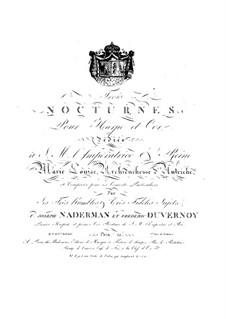 Три ноктюрна для арфы и валторны (или скрипки): Три ноктюрна для арфы и валторны (или скрипки) by Фредерик Дювернуа