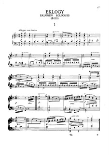 Эклоги, B.103: Эклоги by Антонин Дворжак
