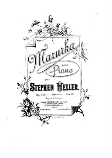 Мазурка си мажор, Op.158: Мазурка си мажор by Стефан Геллер