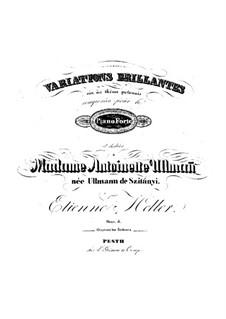 Блестящие вариации на польскую тему, Op.5: Блестящие вариации на польскую тему by Стефан Геллер