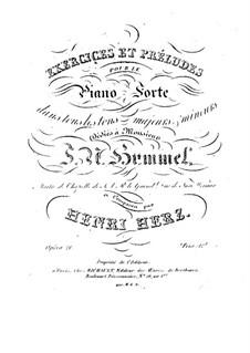 Двадцать четыре упражнения и прелюдии, Op.21: Для фортепиано by Анри Герц