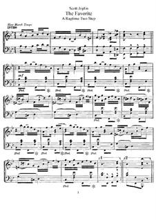 Фаворит: Для фортепиано by Скотт Джоплин