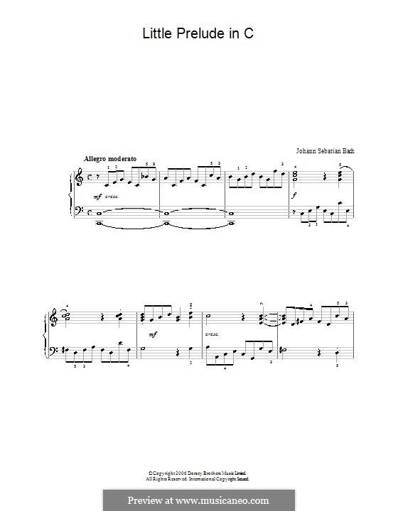 Двенадцать маленьких прелюдий: Прелюдия No.2 до минор by Иоганн Себастьян Бах