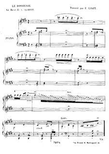 Соловей: Для фортепиано by Александр Алябьев