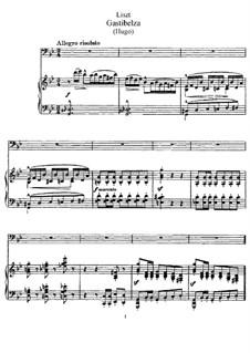 Gastibelza, S.286: Gastibelza by Франц Лист