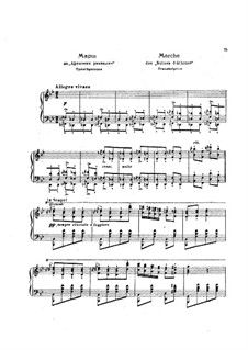 Турецкий марш: Для фортепиано, S.388a by Людвиг ван Бетховен