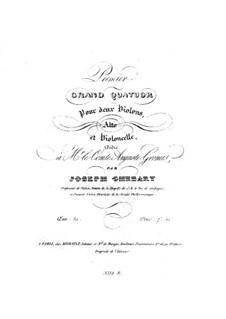 Струнный квартет No.1 ля мажор, Op.52: Струнный квартет No.1 ля мажор by Джузеппе Гебарт