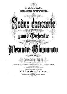 Гадание и пляска, Op.81: Гадание и пляска by Александр Глазунов