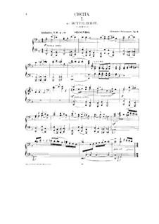 Характеристическая сюита, Op.9: Для фортепиано в 4 руки by Александр Глазунов