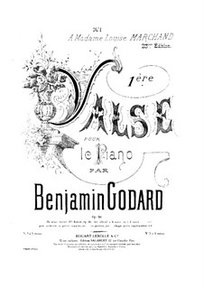 Вальс No.1 ля-бемоль мажор, Op.26: Вальс No.1 ля-бемоль мажор by Бенжамин Годар