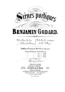 Scènes poétiques, Op.46: Партитура by Бенжамин Годар