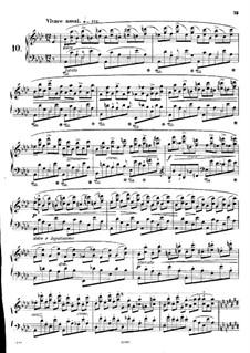 No.10 ля-бемоль мажор: Для фортепиано by Фредерик Шопен
