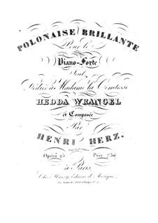 Блестящий полонез, Op.25: Блестящий полонез by Анри Герц