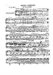 Рондо-каприччио на тему из оперы 'Немая из Портичи' Обера, Op.44: Рондо-каприччио на тему из оперы 'Немая из Портичи' Обера by Анри Герц
