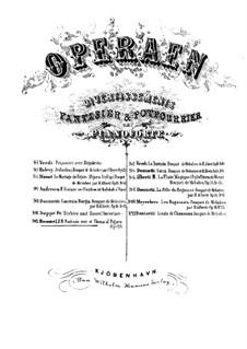 Фантазия на темы из оперы 'Женитьба Фигаро' Моцарта, Op.124: Для фортепиано by Иоганн Непомук Гуммель