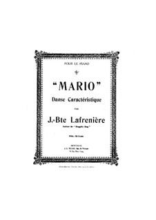 Марио. Характерный танец: Марио. Характерный танец by Жан Батист Лафренье