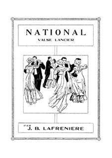 National Valse Lancier: National Valse Lancier by Жан Батист Лафренье