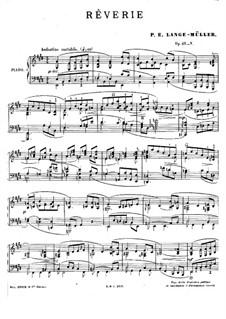 Rêverie, Op.49 No.5: Rêverie by Петер Эразм Ланге-Мюллер