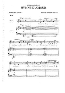 Гимн любви: Гимн любви by Жюль Массне