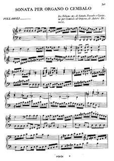 Соната для органа или клавесина: Соната для органа или клавесина by Карло Франческо Поллароло