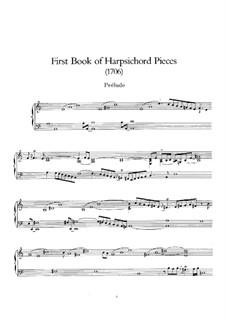 Premier livre de clavecin, RCT 1: Сборник by Жан-Филипп Рамо