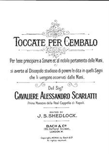 Токката No.1 соль мажор: Токката No.1 соль мажор by Доменико Скарлатти