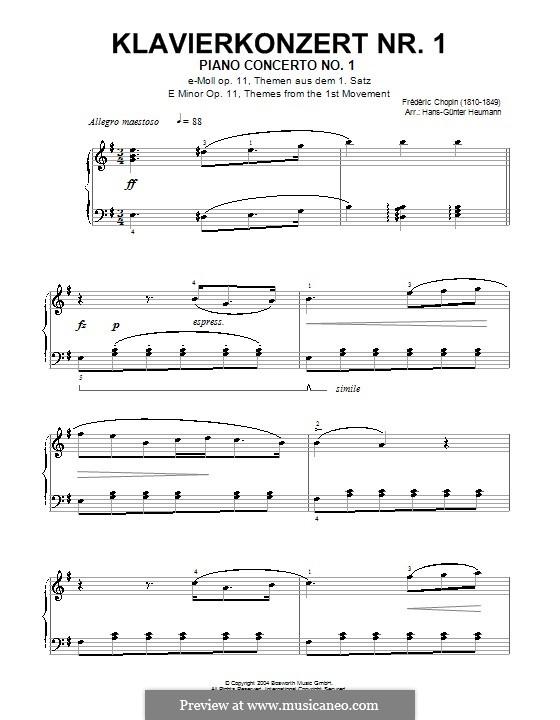 Фрагменты: Часть I (Тема). Версия для фортепиано by Фредерик Шопен